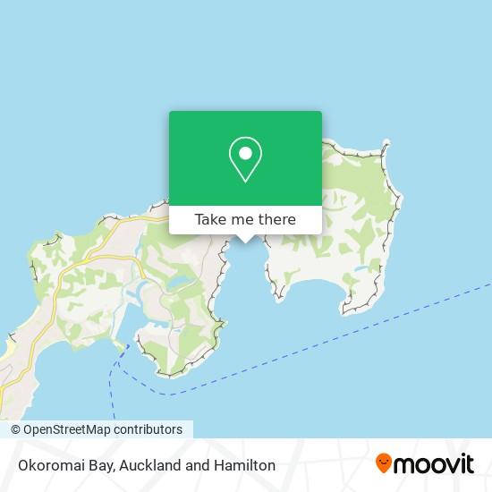 Okoromai Bay map