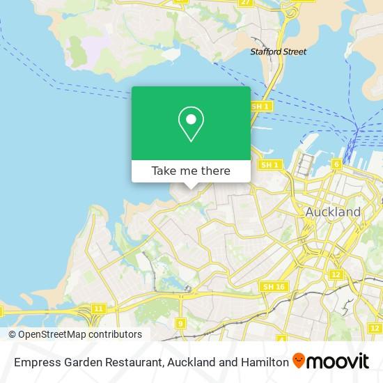 Empress Garden Restaurant map