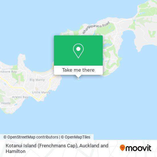 Kotanui Island (Frenchmans Cap) map