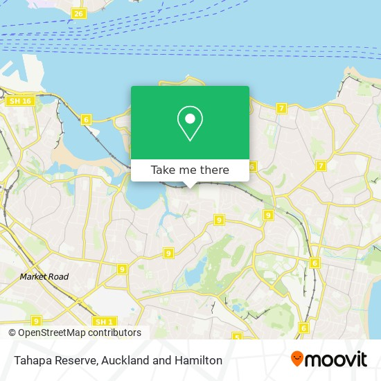 Tahapa Reserve map