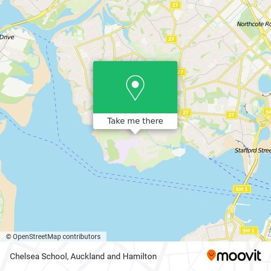 Chelsea School map