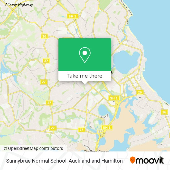 Sunnybrae Normal School map