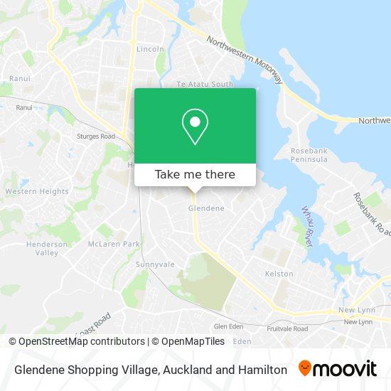 Glendene Shopping Village map