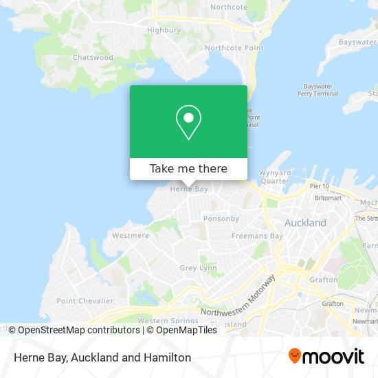 Herne Bay map