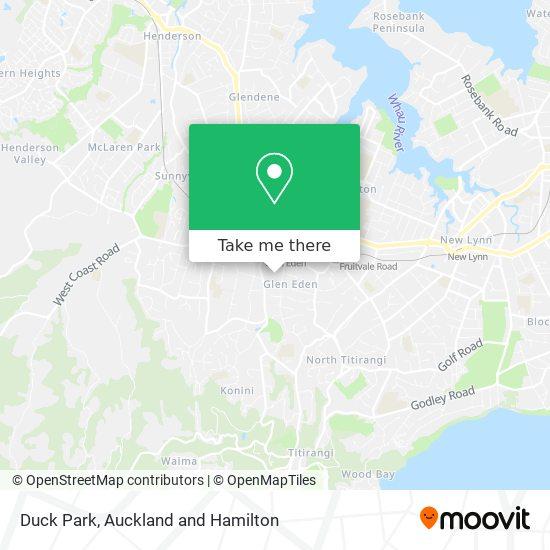 Duck Park map