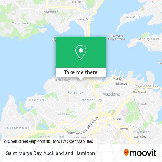 Saint Marys Bay map