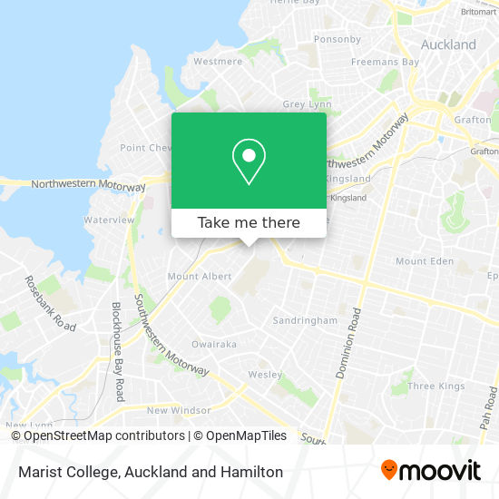 Marist College map