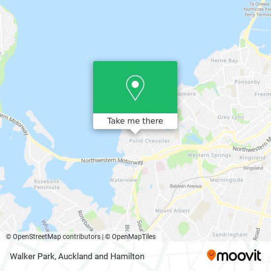 Walker Park map