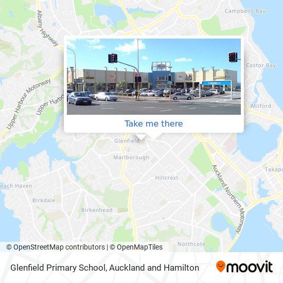 Glenfield Primary School map