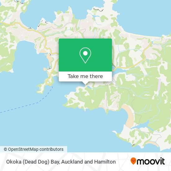 Okoka (Dead Dog) Bay map