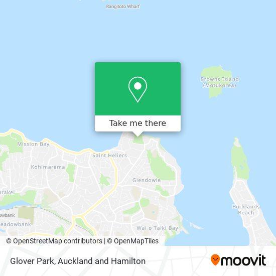 Glover Park map