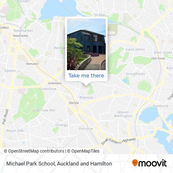 Michael Park School map