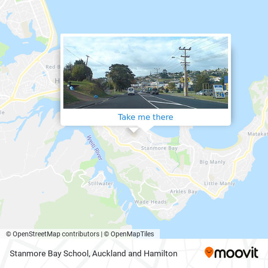 Stanmore Bay School map