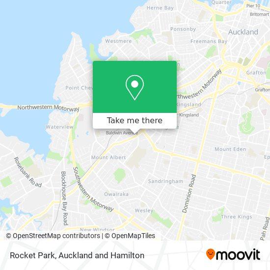 Rocket Park map