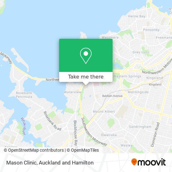 Mason Clinic map