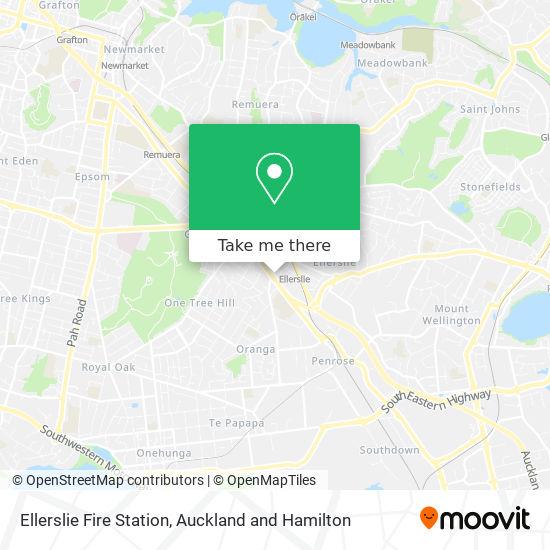 Ellerslie Fire Station map