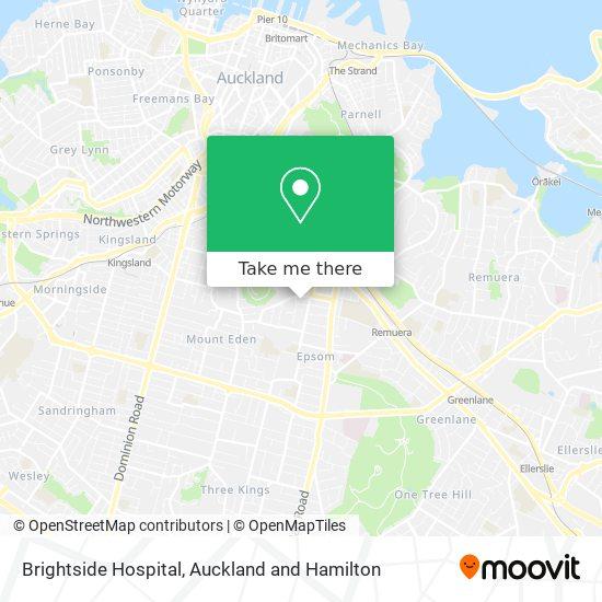 Brightside Hospital map