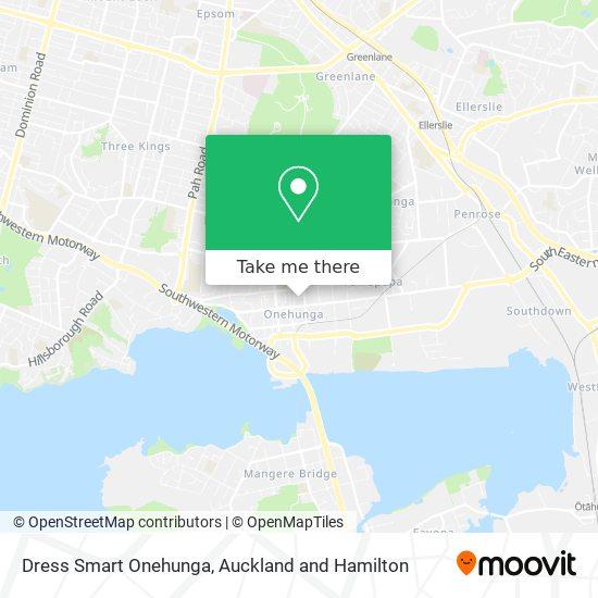 Dress Smart Onehunga map