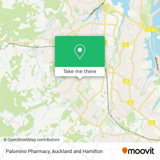 Palomino Pharmacy map