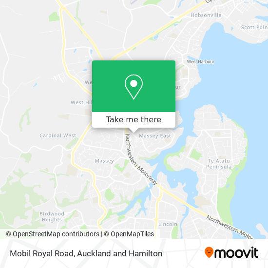 Mobil Royal Road map
