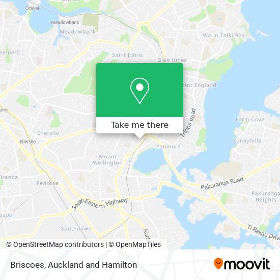 Briscoes map