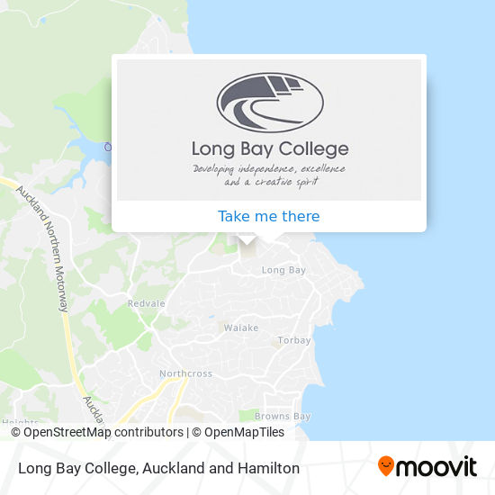 Long Bay College map
