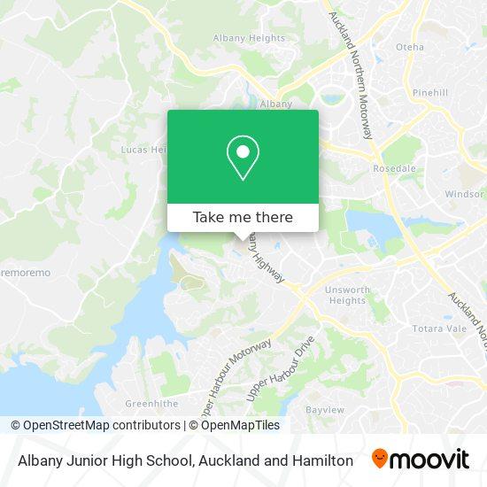 Albany Junior High School map