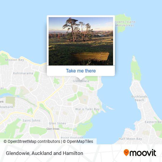 Glendowie map