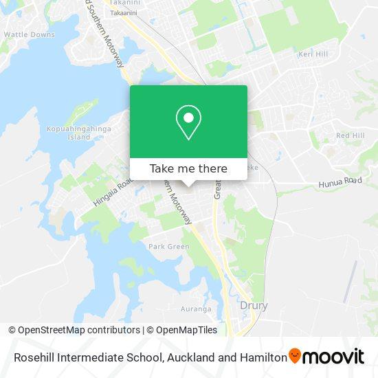 Rosehill Intermediate School map