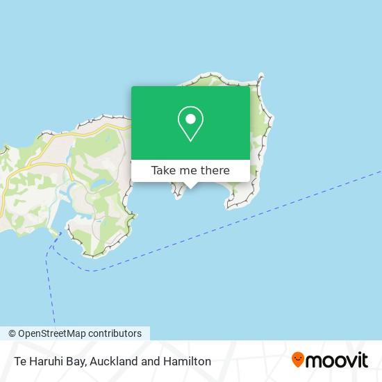 Te Haruhi Bay map