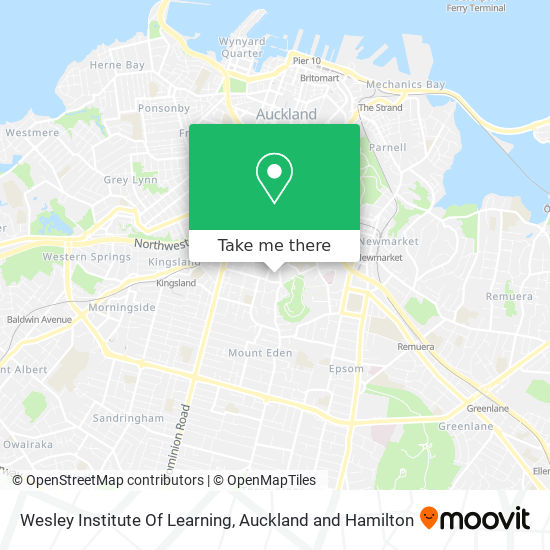 Wesley Institute Of Learning map