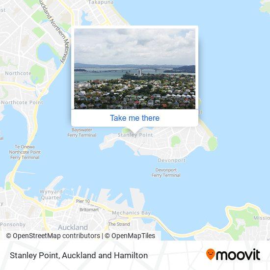 Stanley Bay map