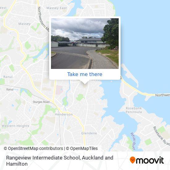 Rangeview Intermediate School map