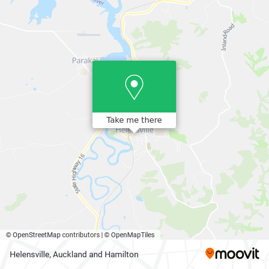 Helensville map