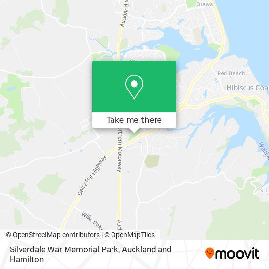 Silverdale War Memorial Park map