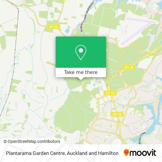 Plantarama Garden Centre map