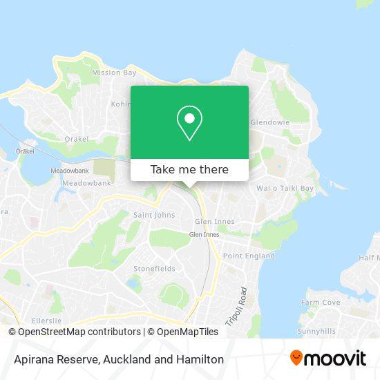 Apirana Reserve map