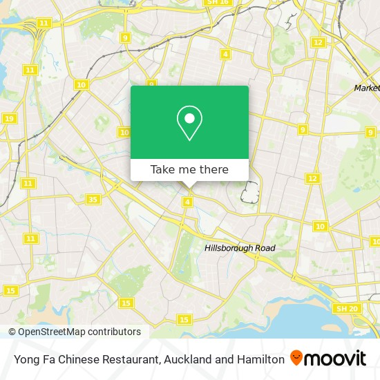 Yong Fa Chinese Restaurant map