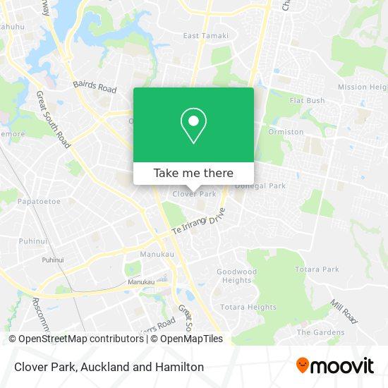 Clover Park map