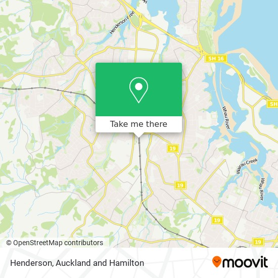 Henderson map