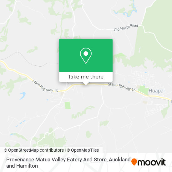 Provenance Matua Valley Eatery And Store map