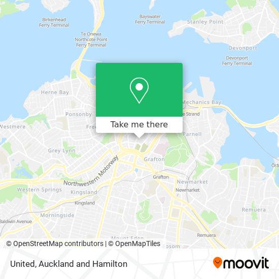 Yha Auckland City map
