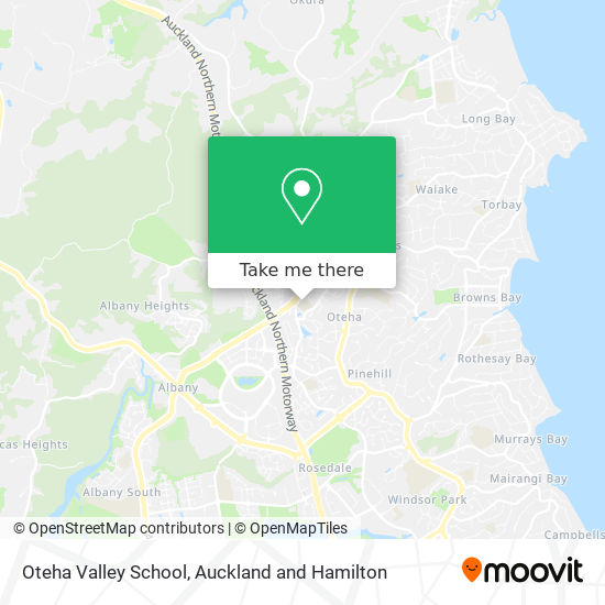Oteha Valley School map