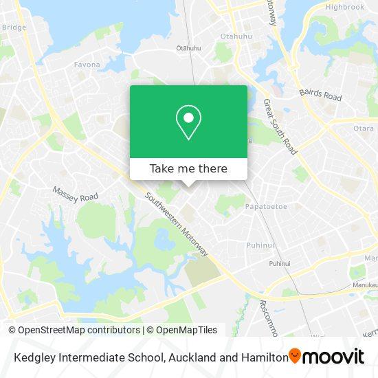 Kedgley Intermediate School map