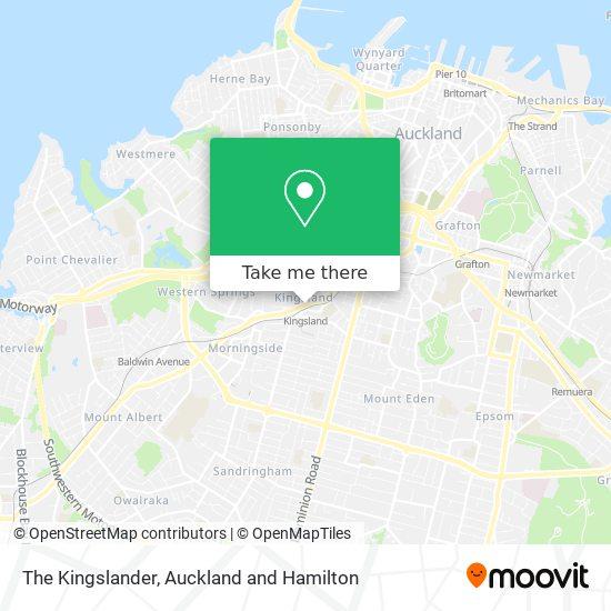 Kingslander map