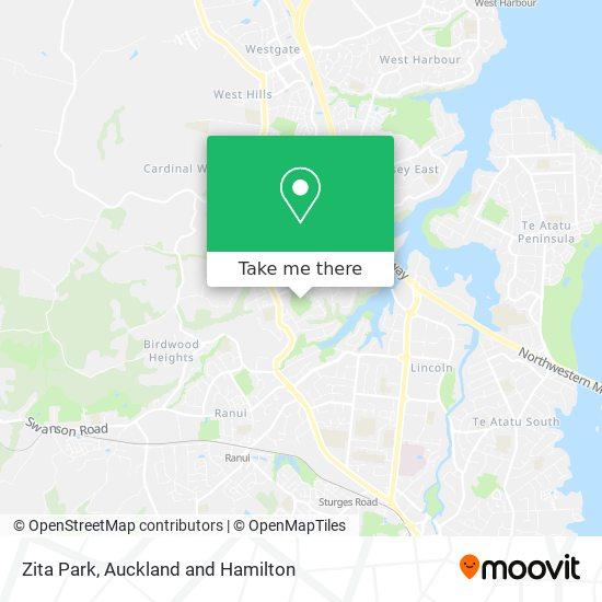 Zita Park map