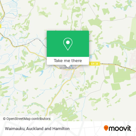 Waimauku map