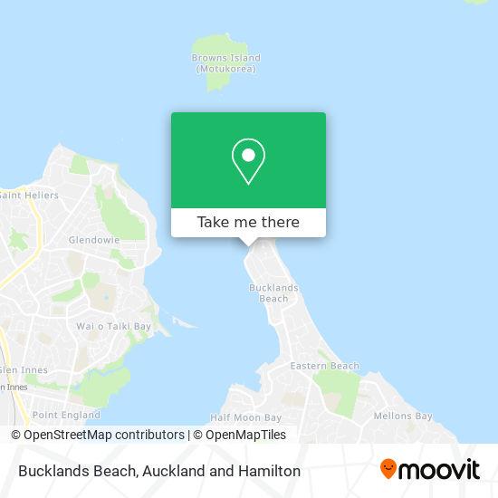 Bucklands Beach map