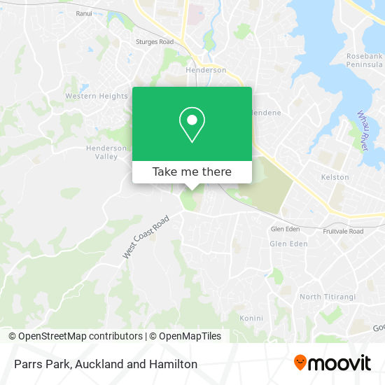 Parrs Park map