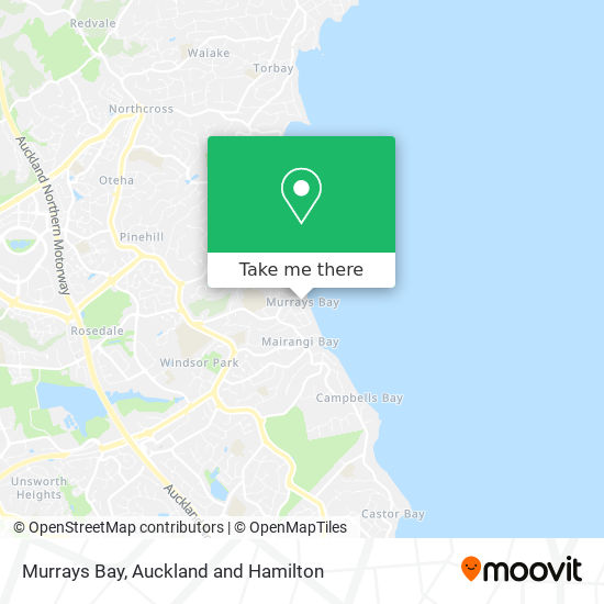 Murrays Bay map